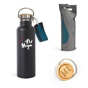 25 Oz. Elemental® Matte Insulated Water Bottle - Vacuum Double Walled Stainless Steel - Leak Free